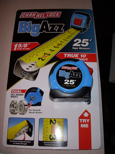 Channel Lock BigAzz Tape Measure